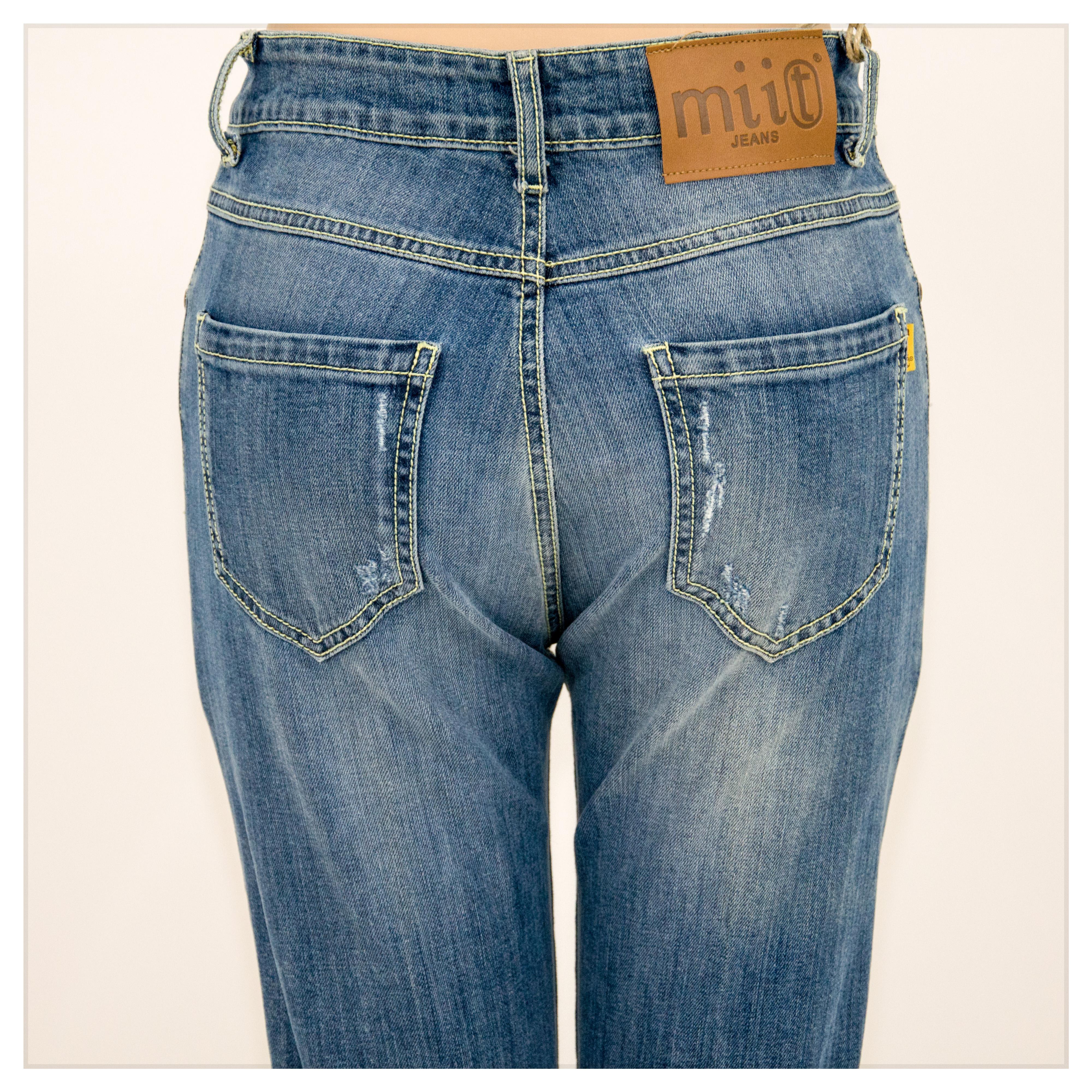 Jeans donna denim Abbigliamento donna Bristil abbigliamento