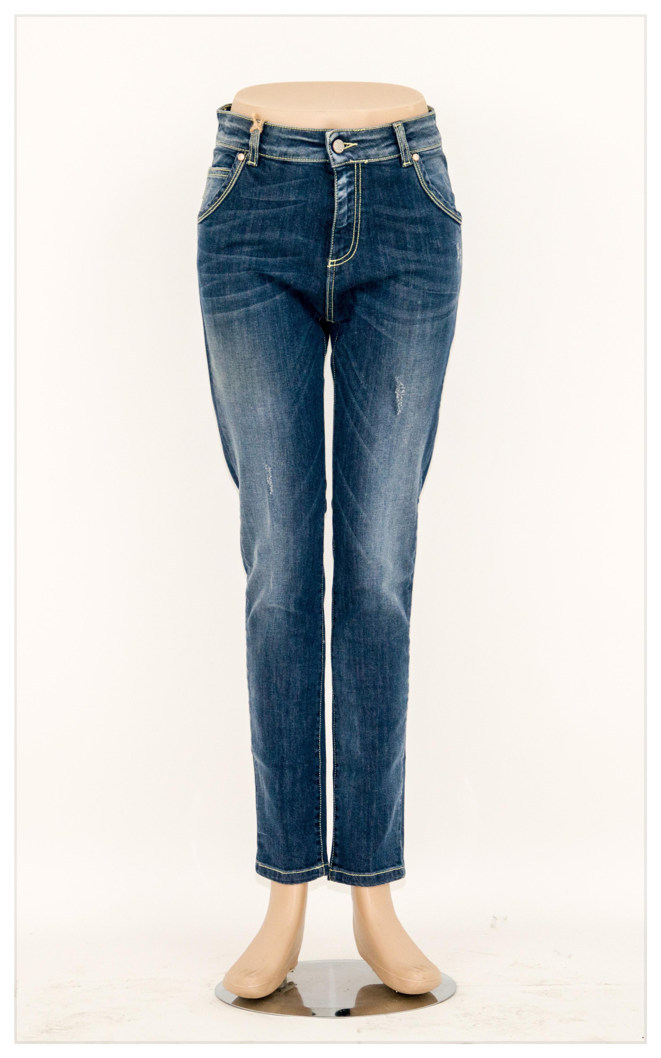 Jeans donna denim Fanny Bristil abbigliamento