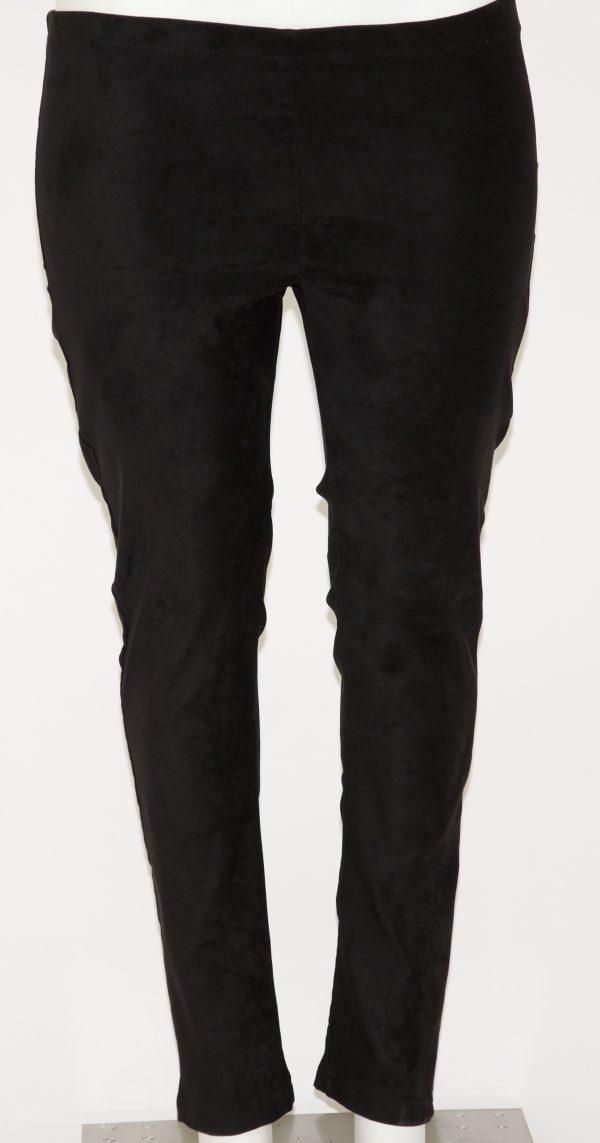 Pantalone in ecorenna con elastico in vita, dietro 2 tasche